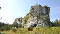 Ruiny strażnicy w Przewodziszowicach